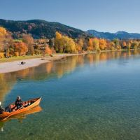 Herbst Seepromenade Gmund