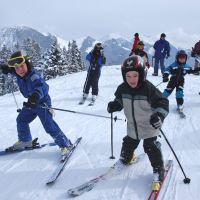 Skifahren Kinder Spitzingsee Tegernsee