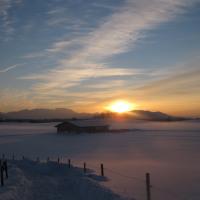 Winterabend Piesenkam